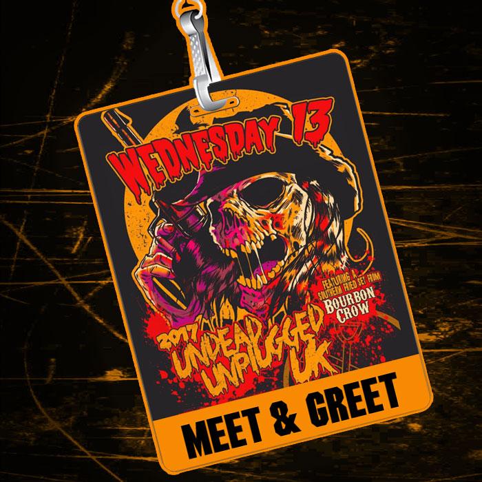 Wednesday 13 - Undead Unplugged UK 2017