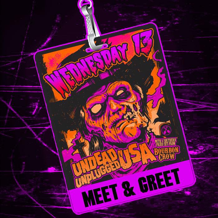 Wednesday 13 - Undead Unplugged USA 2017